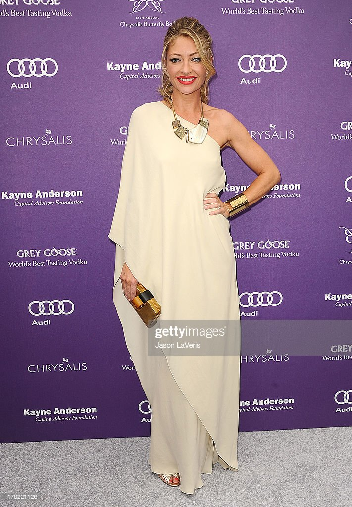 Actress <a gi-track='captionPersonalityLinkClicked' href=/galleries/search?phrase=Rebecca+Gayheart&family=editorial&specificpeople=204784 ng-click='$event.stopPropagation()'>Rebecca Gayheart</a> attends the 12th annual Chrysalis Butterfly Ball on June 8, 2013 in Los Angeles, California.