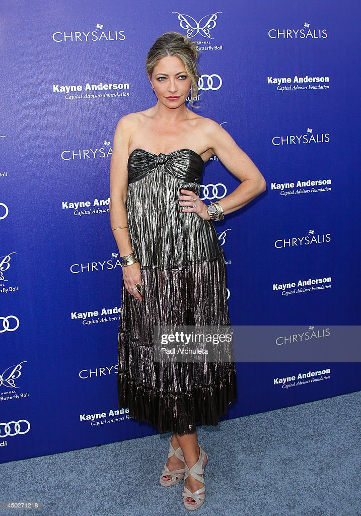 Actress Rebecca Gayheart attends the 13th Annual Chrysalis Butterfly Ball at a private Mandeville Canyon Estate on June 7, 2014 in Los Angeles, California.