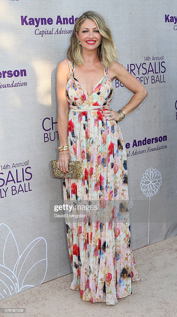 Actress Rebecca GayheartDane attends the 14th Annual Chrysalis Butterfly Ball sponsored by Audi Kayne Anderson Lauren B Beauty and Z Gallerie at a...