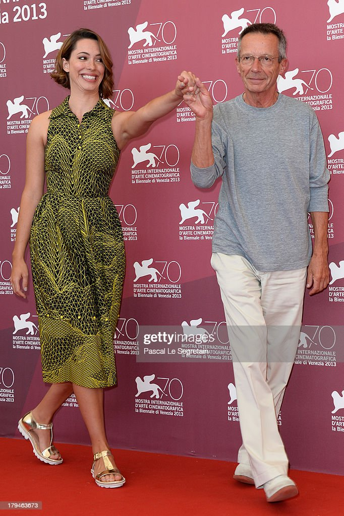 Actress Rebecca Hall and director Patrice Leconte attend 'Une Promesse' Photocall during the 70th Venice International Film Festival at Palazzo del Casino on September 4, 2013 in Venice, Italy.