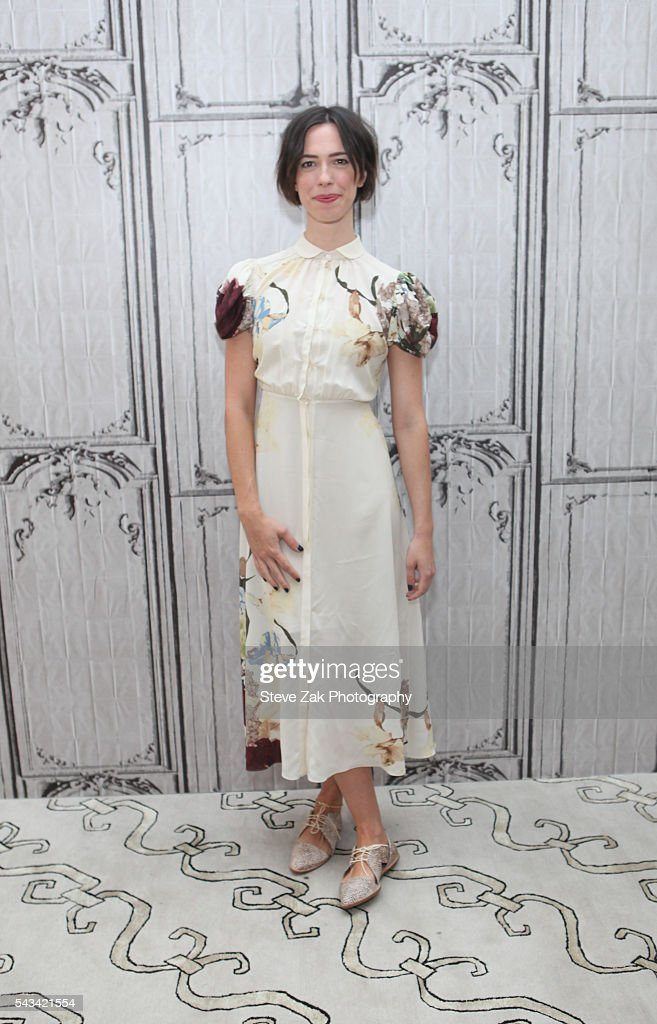 Actress Rebecca Hall attends AOL Build Presents: 'The BFG' at AOL Studios In New York on June 28, 2016 in New York City.