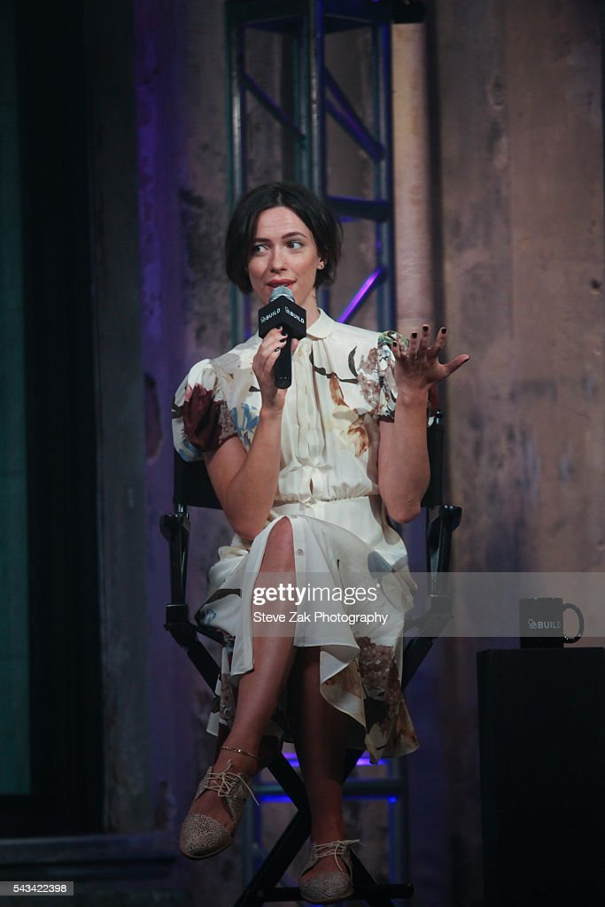 Actress <a gi-track='captionPersonalityLinkClicked' href=/galleries/search?phrase=Rebecca+Hall&family=editorial&specificpeople=778176 ng-click='$event.stopPropagation()'>Rebecca Hall</a> attends AOL Build Presents: 'The BFG' at AOL Studios In New York on June 28, 2016 in New York City.