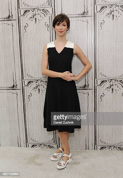 Actress Rebecca Hall attends AOL Build to discuss her film 'The Gift' at AOL Studios on July 27 2015 in New York City