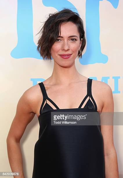 Actress Rebecca Hall attends Disney's 'The BFG' premiere at the El Capitan Theatre on June 21 2016 in Hollywood California
