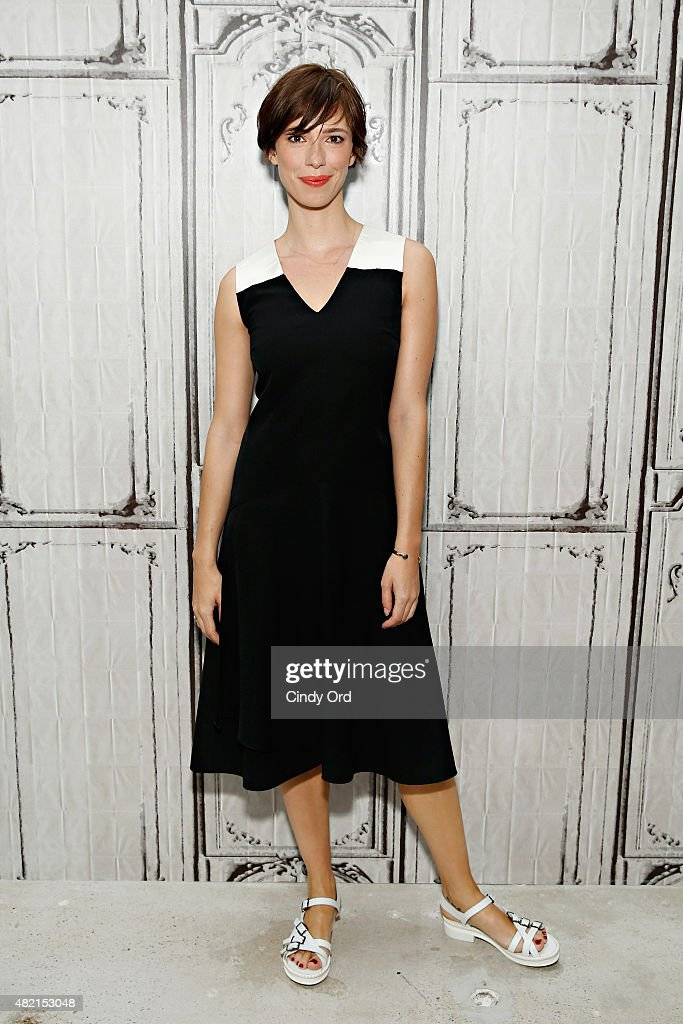 Actress Rebecca Hall attends the AOL Build Speaker Series Presents Rebecca Hall and Joel Edgerton 'The Gift' at AOL Studios on July 27 2015 in New...