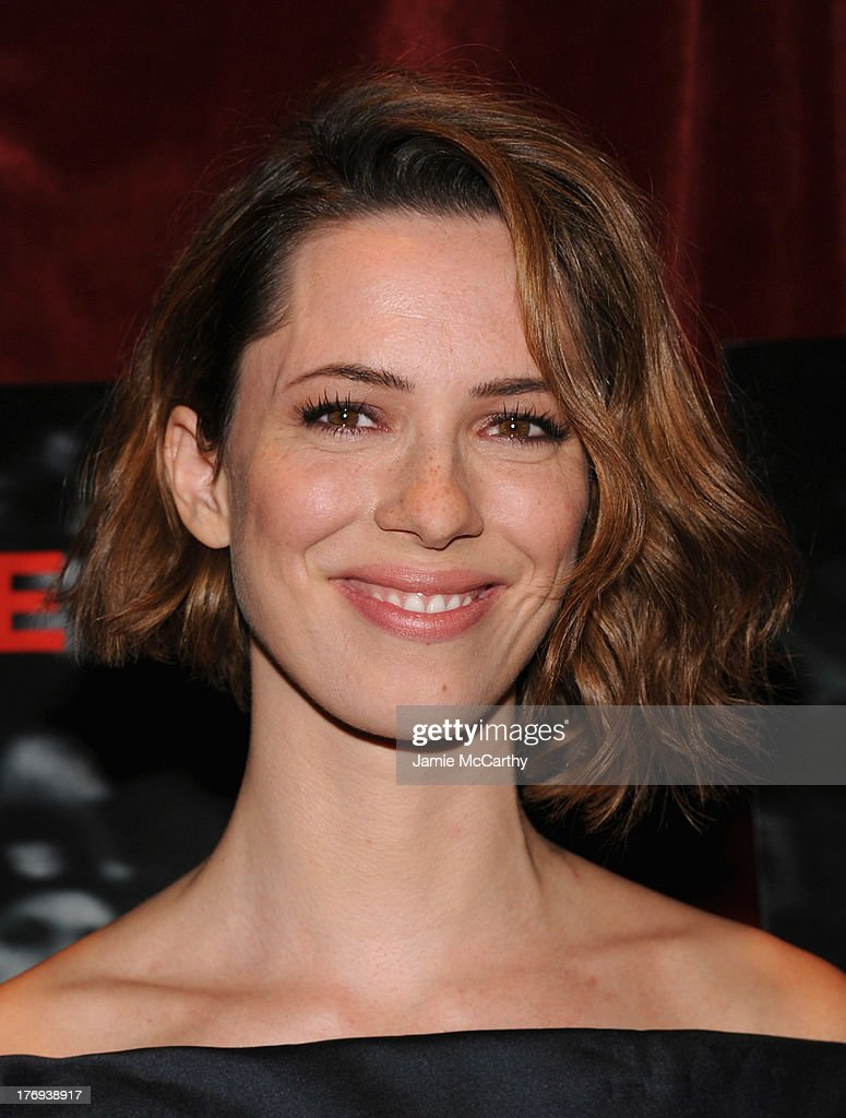 Actress Rebecca Hall attends the 'Closed Circuit' screening at Tribeca Grand Hotel - Screening Room on August 19, 2013 in New York City.
