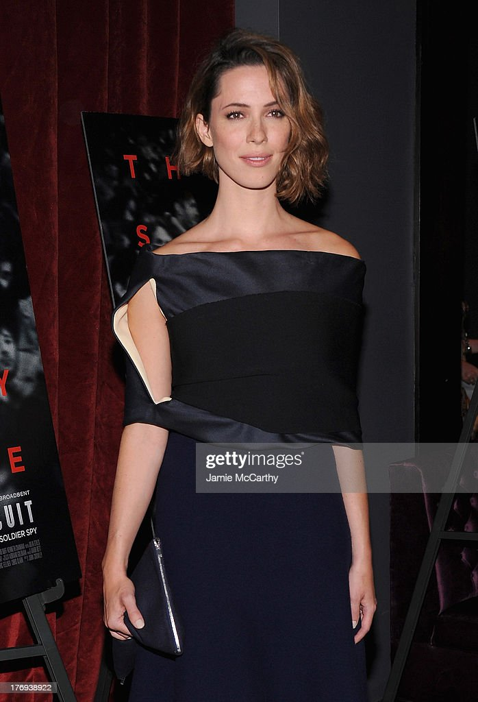 Actress <a gi-track='captionPersonalityLinkClicked' href=/galleries/search?phrase=Rebecca+Hall&family=editorial&specificpeople=778176 ng-click='$event.stopPropagation()'>Rebecca Hall</a> attends the 'Closed Circuit' screening at Tribeca Grand Hotel - Screening Room on August 19, 2013 in New York City.