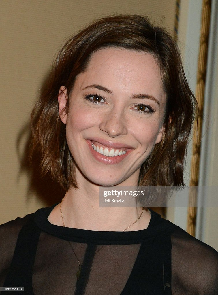 Actress Rebecca Hall attends the HBO Winter 2013 TCA Panel at The Langham Huntington Hotel and Spa on January 4, 2013 in Pasadena, California.