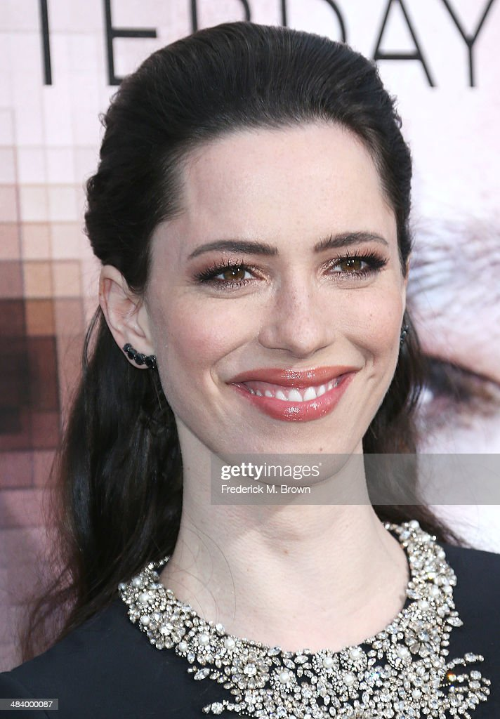 Actress Rebecca Hall attends the Premiere of Warner Bros. Pictures and Alcon Entertainment's 'Transcedence' at the Regency Village Theatre on April 10, 2014 in Westwood, California.