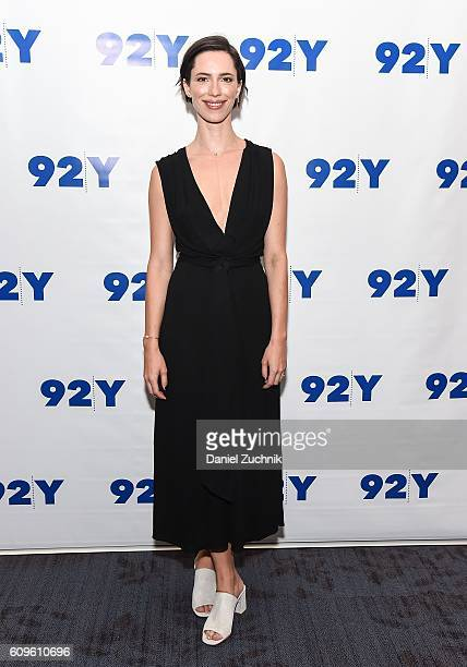 Actress Rebecca Hall attends the preview of 'Christine' at 92nd Street Y on September 21 2016 in New York City