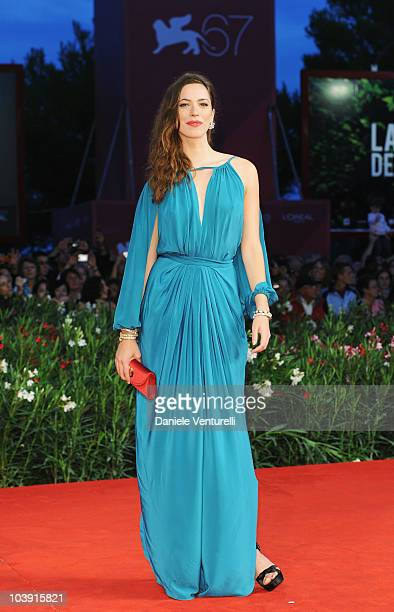 Actress Rebecca Hall attends 'The Town' premiere at the Palazzo del Cinema during the 67th Venice International Film Festival on September 8 2010 in...