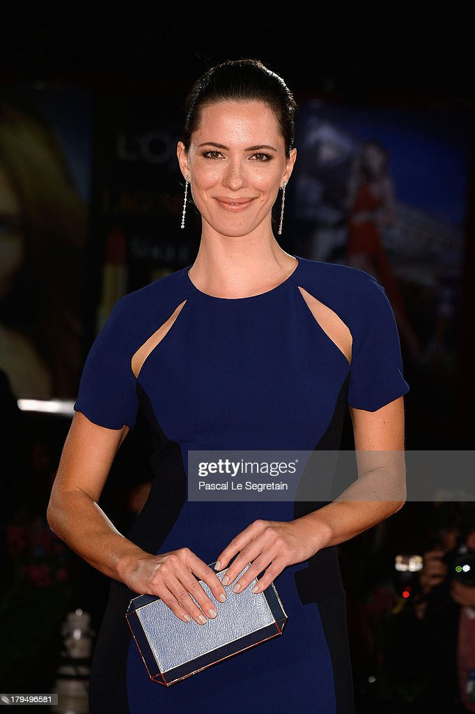 Actress Rebecca Hall attends the 'Une Promesse' Premiere during the 70th Venice International Film Festival at Sala Darsena on September 4 2013 in...