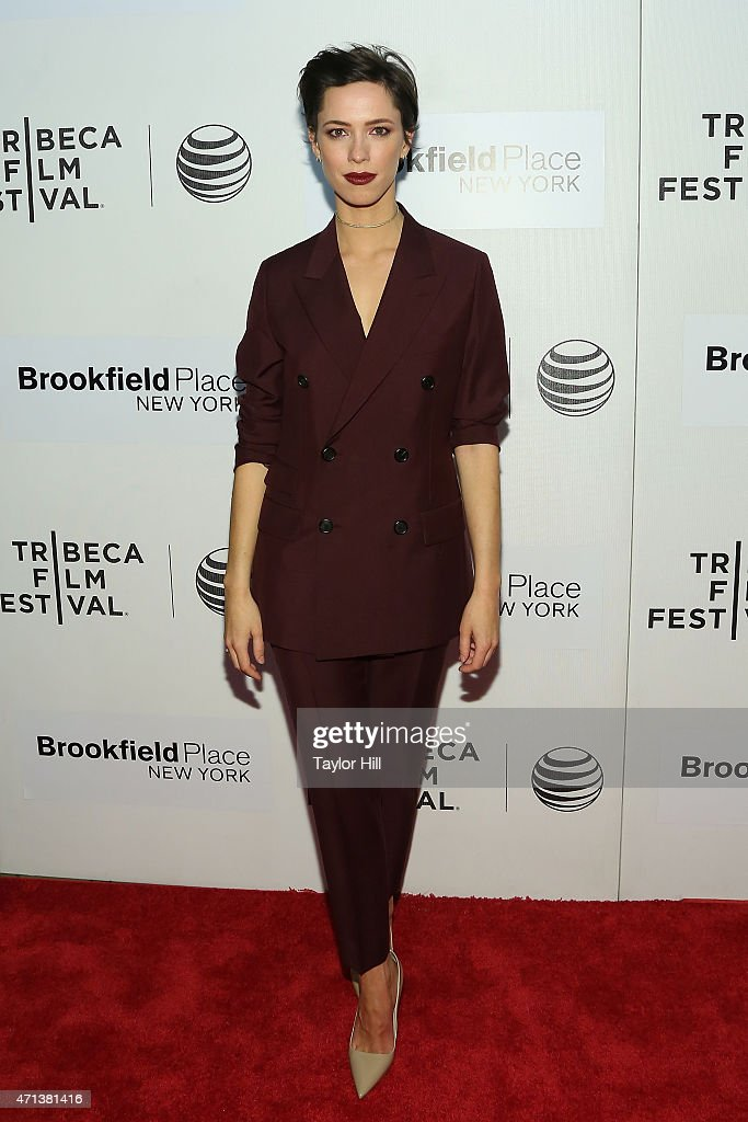 Actress Rebecca Hall attends the world premiere of 'Tumbledown' during the 2015 Tribeca Film Festival at BMCC Tribeca PAC on April 18 2015 in New...