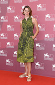 Actress Rebecca Hall attends 'Une Promesse' Photocall during the 70th Venice International Film Festival at Palazzo del Casino on September 4 2013 in...