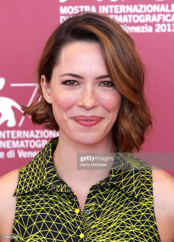 Actress Rebecca Hall attends 'Une Promesse' Photocall during the 70th Venice International Film Festival at Palazzo del Casino on September 4, 2013 in Venice, Italy.