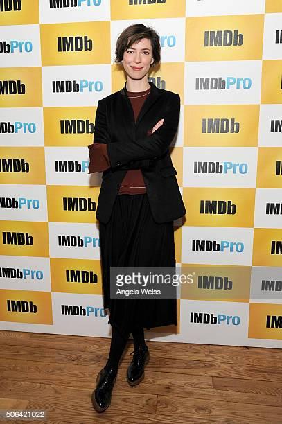 Actress Rebecca Hall in The IMDb Studio In Park City Utah Day Two on January 23 2016 in Park City Utah