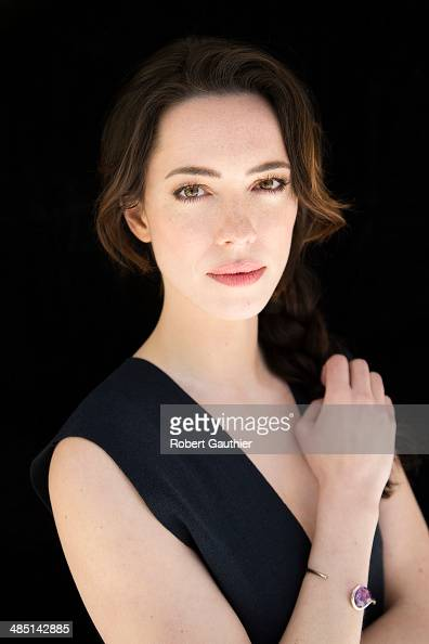 Actress Rebecca Hall is photographed for Los Angeles Times on April 5 2014 in Los Angeles California PUBLISHED IMAGE CREDIT MUST READ Robert...