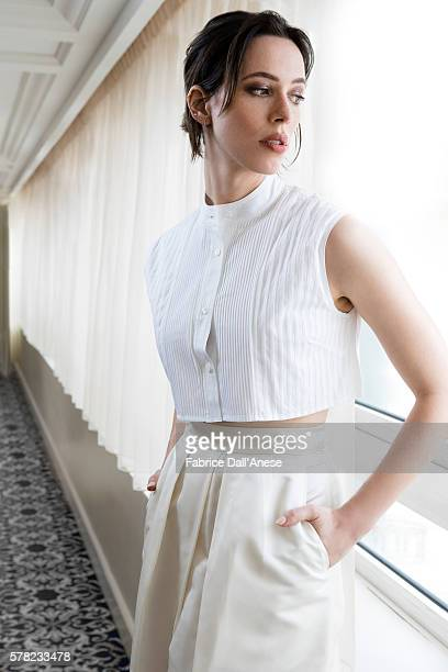 Actress Rebecca Hall is photographed for Stern Magazine on May 15 2016 in Cannes France