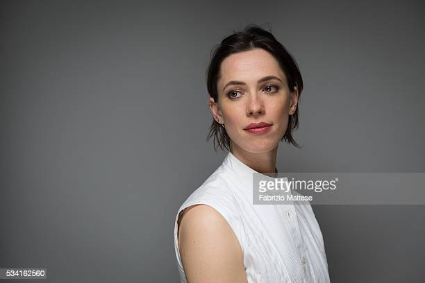 Actress Rebecca Hall is photographed for The Hollywood Reporter on May 14 2016 in Cannes France