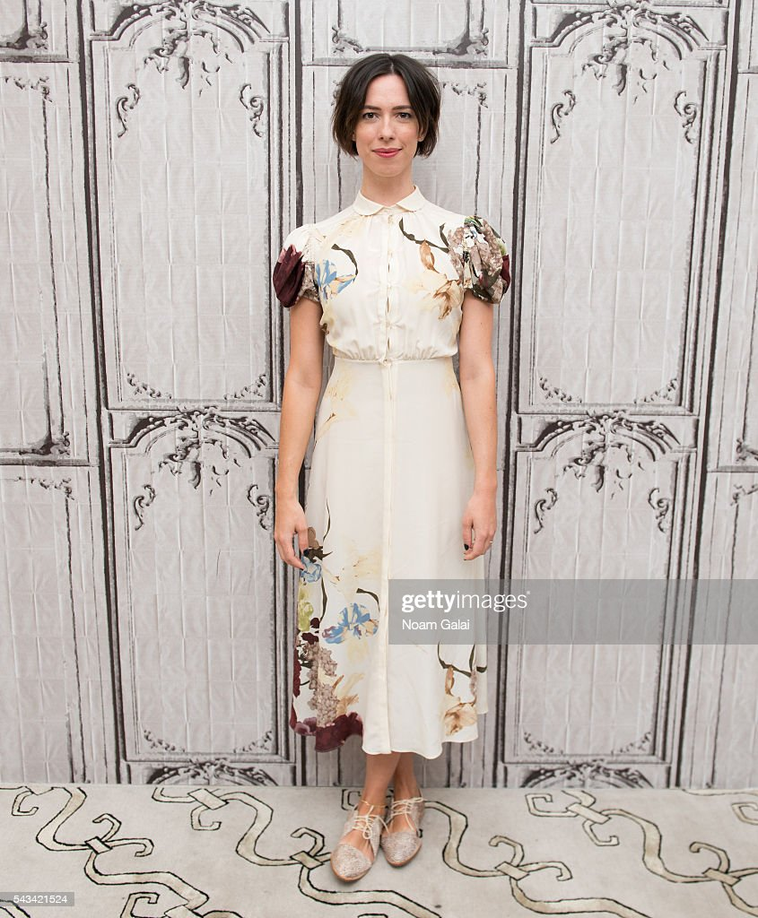 Actress <a gi-track='captionPersonalityLinkClicked' href=/galleries/search?phrase=Rebecca+Hall&family=editorial&specificpeople=778176 ng-click='$event.stopPropagation()'>Rebecca Hall</a> visits AOL Build to discuss 'The BFG' at AOL Studios In New York on June 28, 2016 in New York City.
