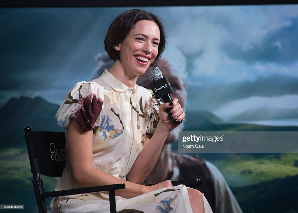 Actress Rebecca Hall visits AOL Build to discuss 'The BFG' at AOL Studios In New York on June 28, 2016 in New York City.