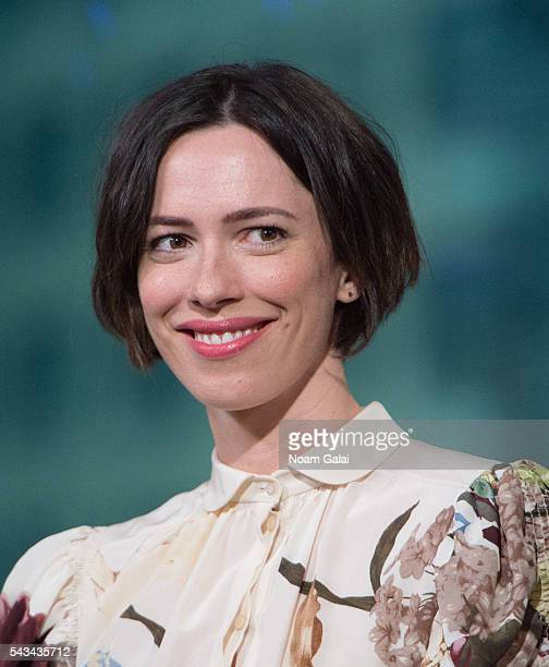 Actress Rebecca Hall visits AOL Build to discuss 'The BFG' at AOL Studios In New York on June 28 2016 in New York City