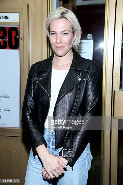 Actress Rebecca Henderson attends 'All The Ways To Say I Love You' Opening Night at The Lucille Lortel Theatre on September 28 2016 in New York City
