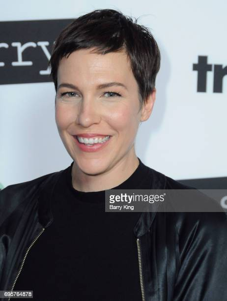 Actress Rebecca Henderson attends the premiere of truTV's 'Im Sorry' at SilverScreen Theater at the Pacific Design Center on June 13 2017 in West...