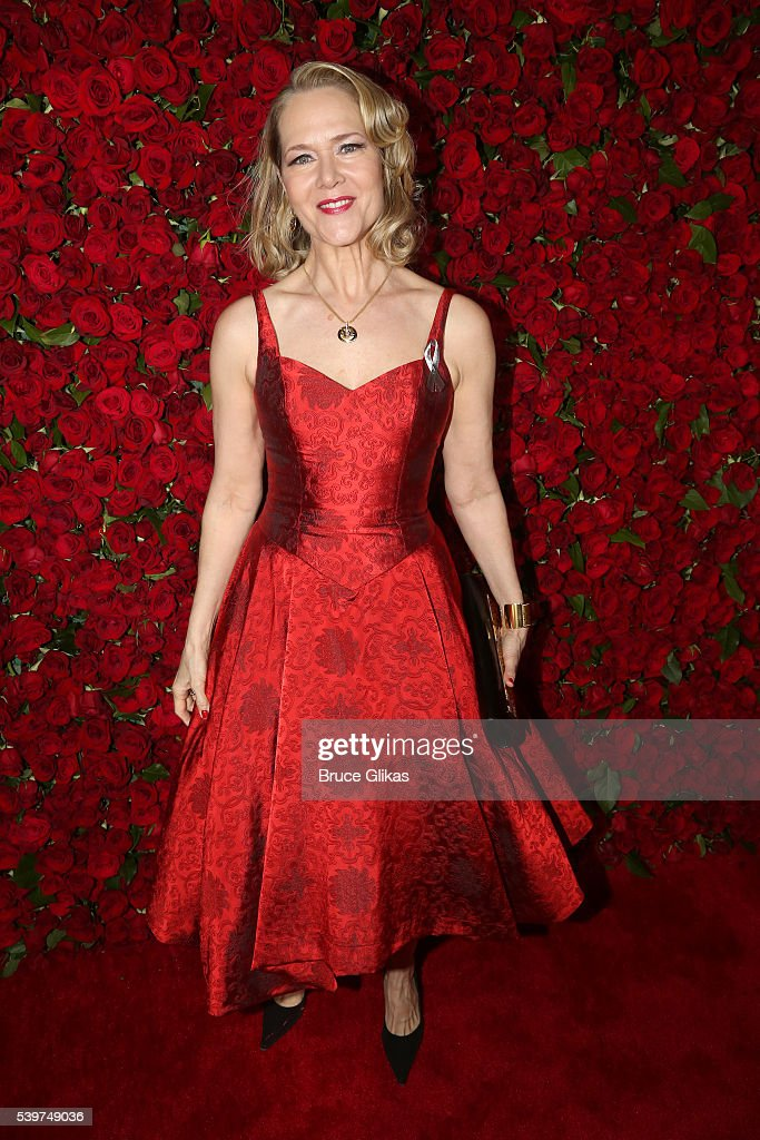 Actress Rebecca Luker attends 70th Annual Tony Awards Arrivals at Beacon Theatre on June 12 2016 in New York City