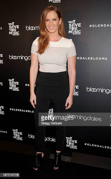 Actress Rebecca Mader arrives at the Bloomingdale's Glendale Opening Gala Celebration with VH1 Save The Music Foundation at Bloomingdale's Glendale...