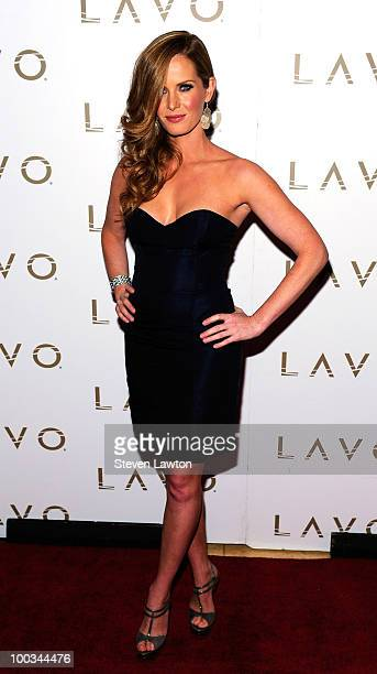 Actress Rebecca Mader arrives to host 'LOST' season finale party at Lavo on May 22 2010 in Las Vegas Nevada