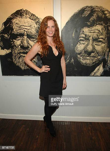 COVERAGE*** Actress Rebecca Mader attends Sanuk Presents An Evening For The Environment and launches the Rasta line at the Celebrity Vault on...