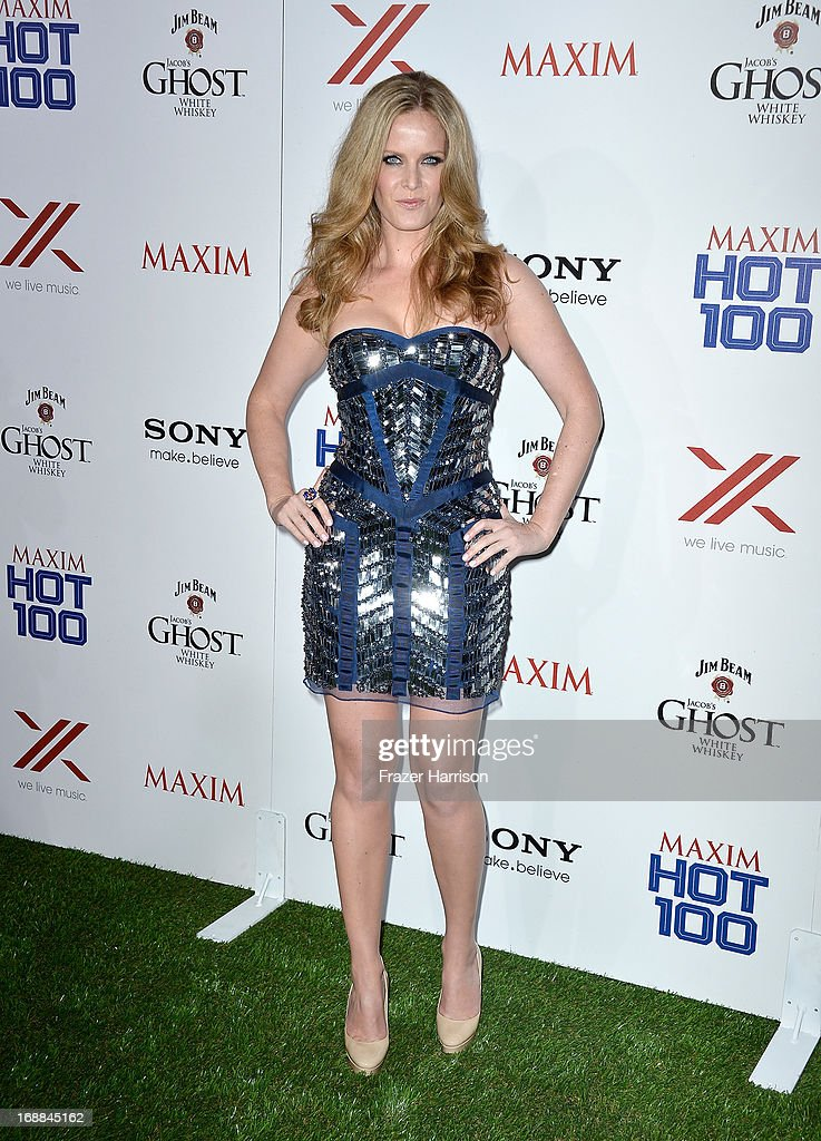 Actress Rebecca Mader attends the Maxim Hot 100 Party at Create on May 15, 2013 in Hollywood, California.