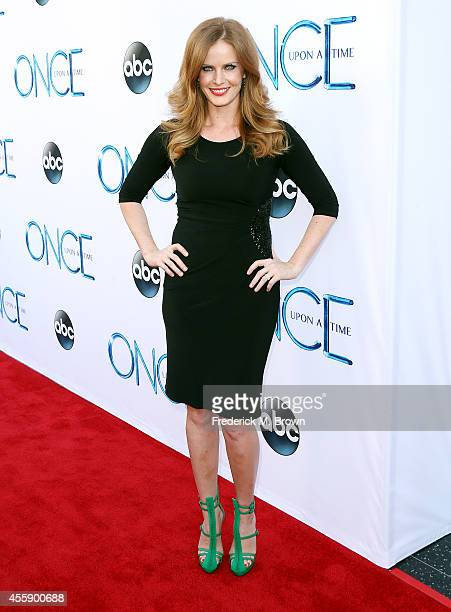 Actress Rebecca Mader attends the Screening of ABC's 'Once Upon A Time' Season 4 at the El Capitan Theatre on September 21 2014 in Hollywood...