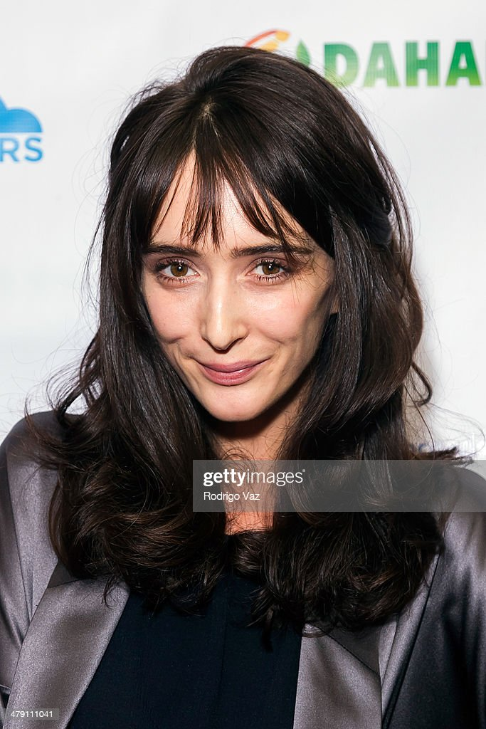 Actress Rebecca Reid attends The Dream Builders Project 'A Brighter Future For Children' at H.O.M.E. on March 15, 2014 in Beverly Hills, California.