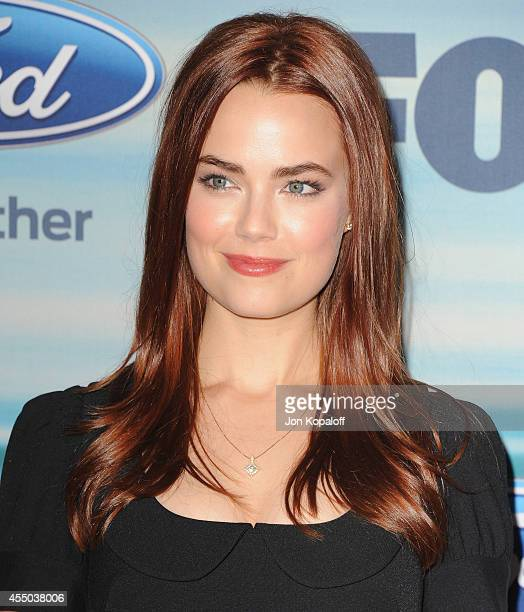 Actress Rebecca Rittenhouse arrives at the 2014 FOX Fall EcoCasino Party at The Bungalow on September 8 2014 in Santa Monica California