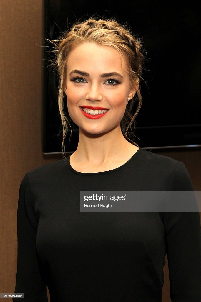 Actress Rebecca Rittenhouse arrives at the 31st Annual Lucille Lortel Awards at NYU Skirball Center on May 1, 2016 in New York City.