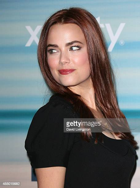 Actress Rebecca Rittenhouse attends the 2014 FOX Fall EcoCasino party at The Bungalow on September 8 2014 in Santa Monica California