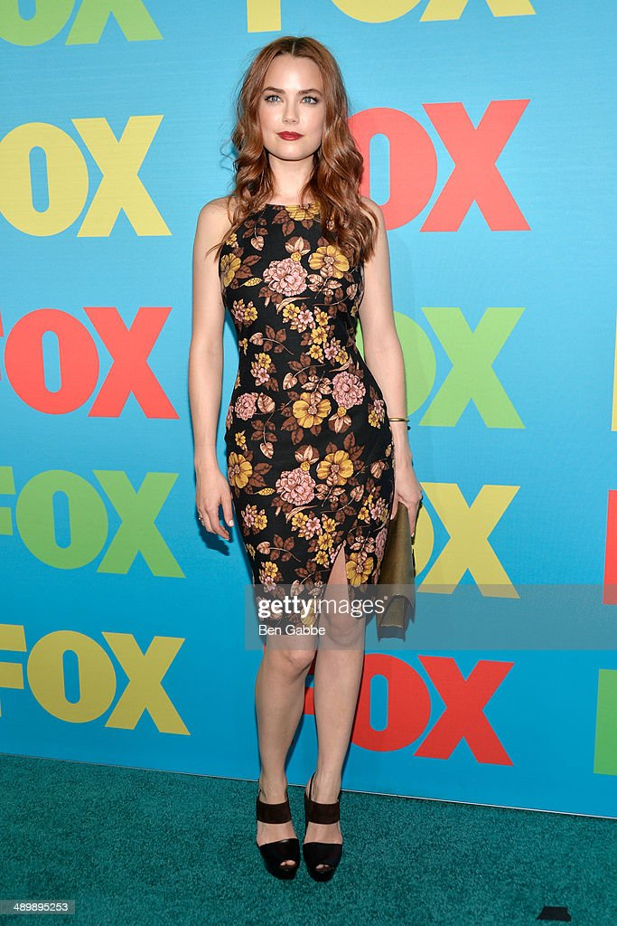 Actress Rebecca Rittenhouse attends the FOX 2014 Programming Presentation at the FOX Fanfront on May 12, 2014 in New York City.