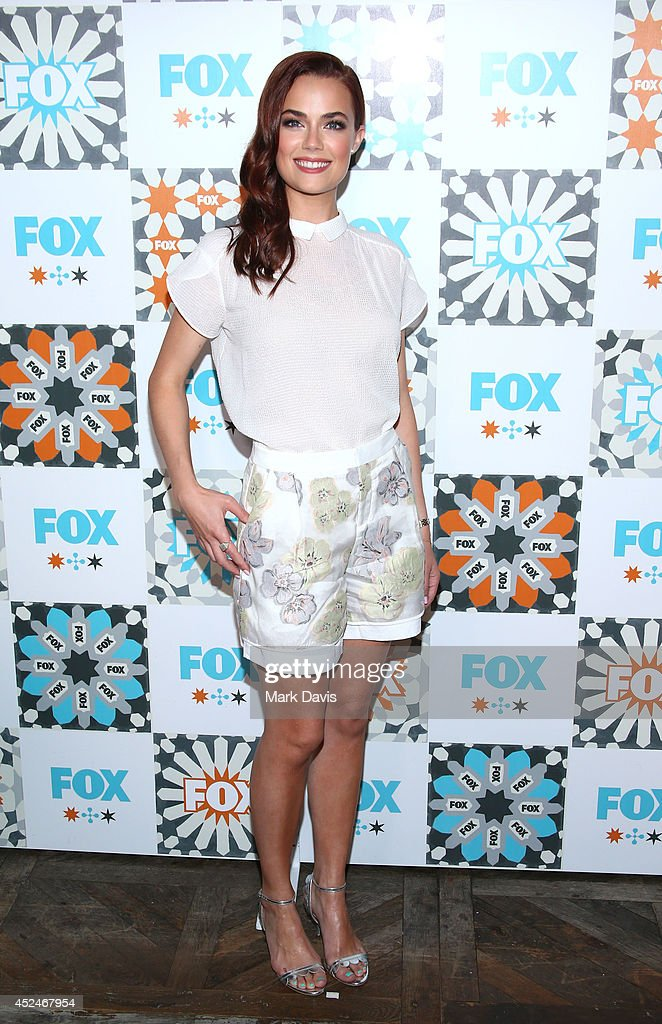 Actress Rebecca Rittenhouse attends the Fox Summer TCA All-Star party held at the SOHO house on July 20, 2014 in West Hollywood, California.