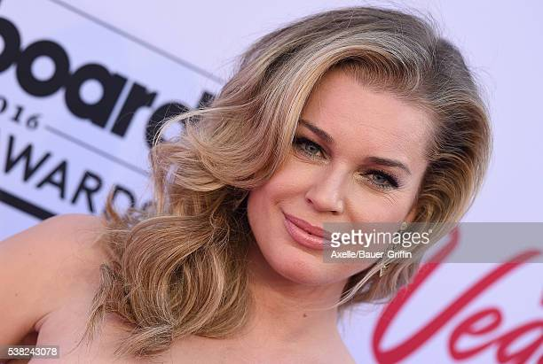 Actress Rebecca Romijn arrives at the 2016 Billboard Music Awards at TMobile Arena on May 22 2016 in Las Vegas Nevada