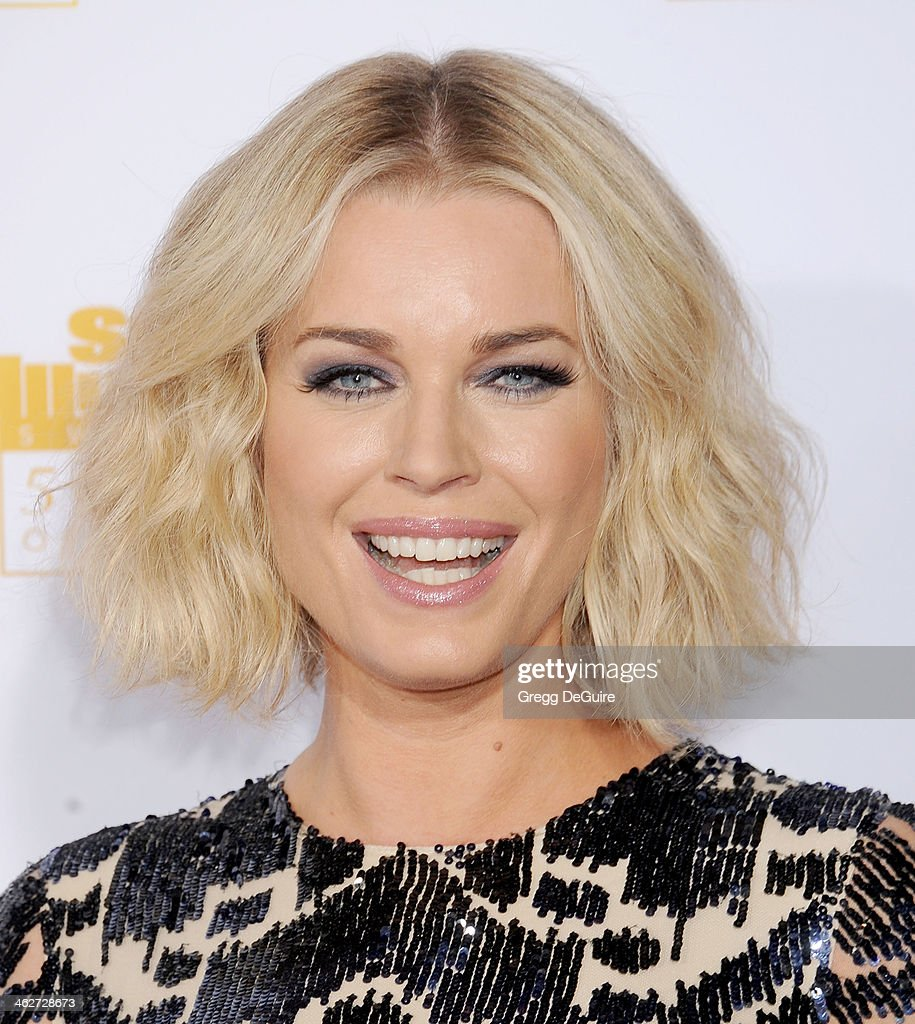 Actress <a gi-track='captionPersonalityLinkClicked' href=/galleries/search?phrase=Rebecca+Romijn&family=editorial&specificpeople=202241 ng-click='$event.stopPropagation()'>Rebecca Romijn</a> arrives at the 50th Anniversary Celebration Of Sports Illustrated Swimsuit Issue at Dolby Theatre on January 14, 2014 in Hollywood, California.