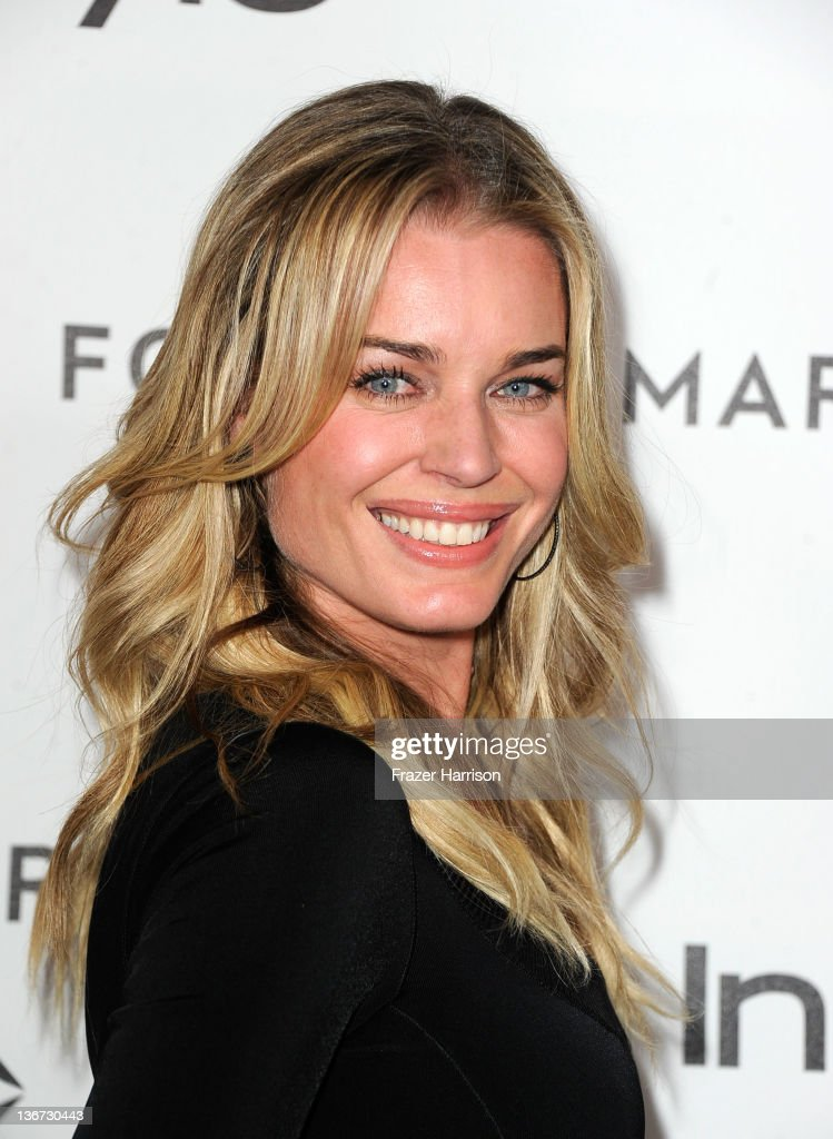 Actress Rebecca Romijn arrives at the Forevermark And InStyle's 'A Promise Of Beauty And Brilliance' Golden Globe Awards Event at Beverly Hills Hotel on January 10, 2012 in Beverly Hills, California.