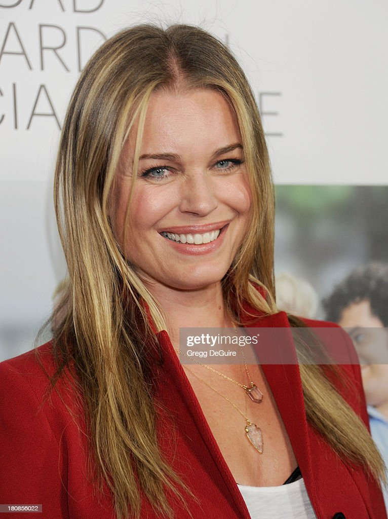Actress Rebecca Romijn arrives at the Los Angeles premiere of 'Thanks For Sharing' at ArcLight Hollywood on September 16, 2013 in Hollywood, California.