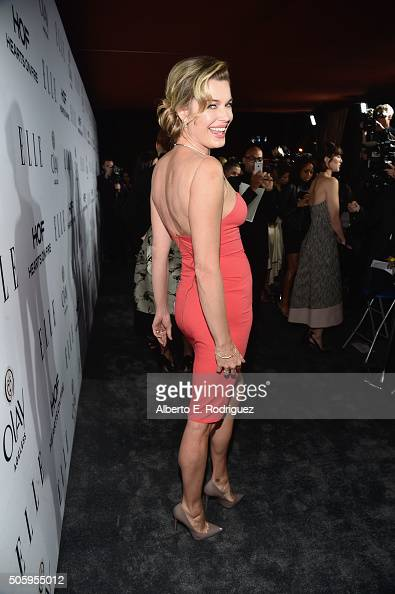 Actress Rebecca Romijn attends ELLE's 6th Annual Women in Television Dinner Presented by Hearts on Fire Diamonds and Olay at Sunset Tower on January...