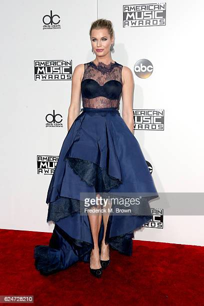 Actress Rebecca Romijn attends the 2016 American Music Awards at Microsoft Theater on November 20 2016 in Los Angeles California