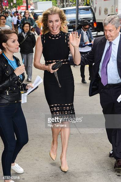 Actress Rebecca Romijn enters the Tao Lounge on May 13 2015 in New York City