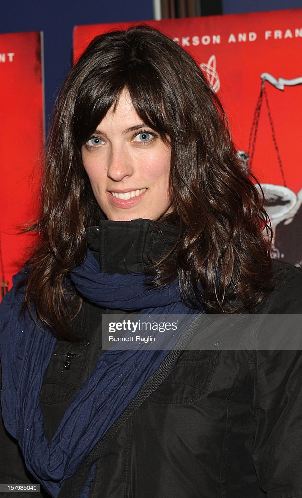 Actress Rebecca Thomas attends the 'West Of Memphis' premiere at Florence Gould Hall on December 7, 2012 in New York City.