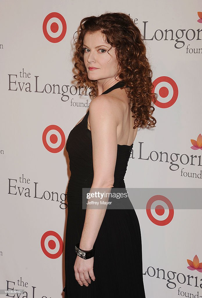 Actress Rebecca Wisocky arrives at the Eva Longoria Foundation Dinner at Beso restaurant on September 28, 2013 in Hollywood, California.