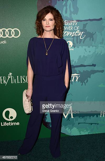 Actress Rebecca Wisocky attends Variety's 2014 Power of Women Event in LA presented by Lifetime at the Beverly Wilshire Four Seasons Hotel on October...